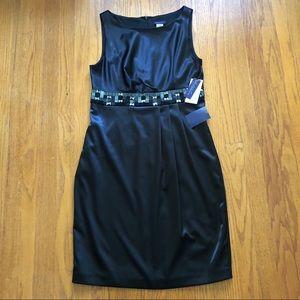 Metaphor Beaded Waist Shift Dress 8